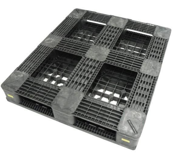 Palette RBP 1200x1000 ajourée 6 semelles
