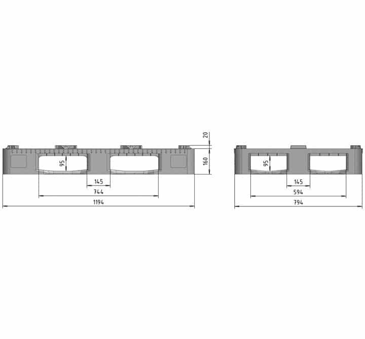 RGP 1200x800 5SEMELLES semi-ajourée schéma