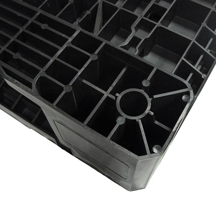 Palette RGP 800x600 PLEINE 2 SEMELLES anthracite possibilité d'anti-glisse Ribawood
