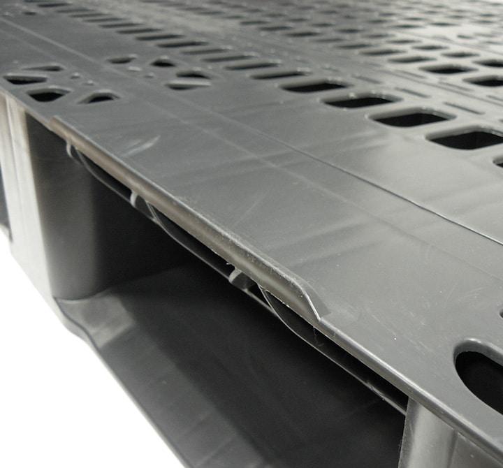 RMP 1200x800 2 ou 3S AJOURÉE anthracite rebords de sécurité